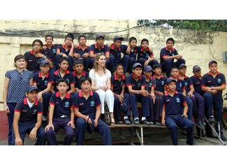 HRH the Infanta Elena to visit the Project on Human and Mapfre Foundation in Ecuador-img1