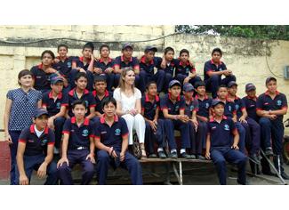SAR la Infanta Doña Elena visita el proyecto de Humana y la Fundación Mapfre en Ecuador-img1