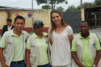 HRH the Infanta Elena to visit the Project on Human and Mapfre Foundation in Ecuador-img2
