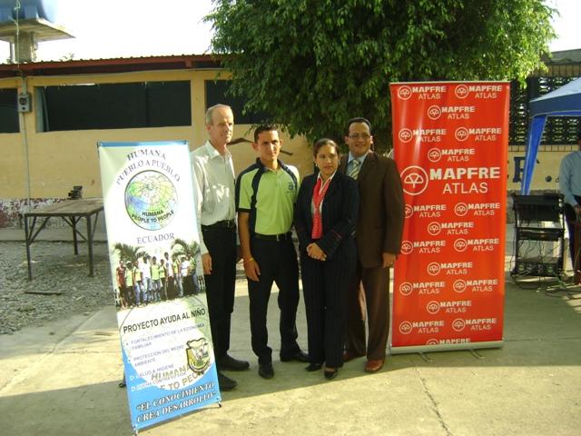 Finalizada la primera fase del proyecto de formación profesional de jóvenes en Ecuador financiado por la Fundación Mapfre-img1