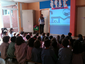 Day in Collado Villalba on recycling, with the presence of 305 children-img1