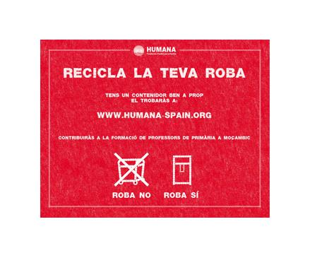 13 Municipis catalans se sumen a la campanya de reciclatge tèxtil 'Estalvi 140' d'Humana-img1