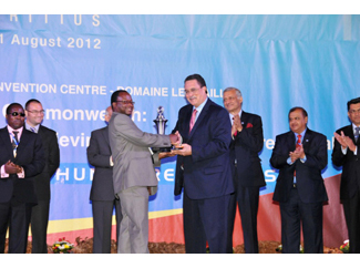 ADPP-Mozambique wins a Commonwealth award-img1