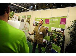 Humana presenta en Biocultura las iniciativas seleccionadas en el programa de agricultura social 2013-img1