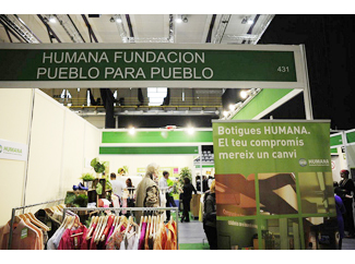 Humana shows at Biocultura the selected initiatives in the social farming program 2013-img3