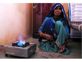 Biogàs per a la vida a l'Índia -img2