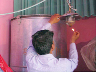 Biogas for life in India-img1