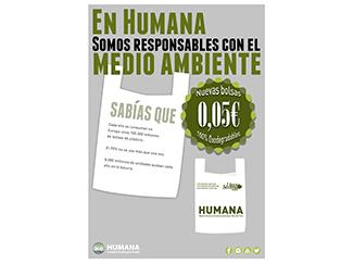Humana introdueix la bossa reutilitzable a les botigues-img2