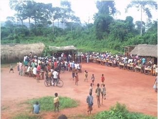 The community development project in Equateur, Congo, enters its final stretch-img1