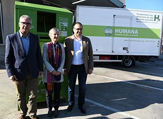 El Consejero de Medio Ambiente de la Comunidad de Madrid visita la planta de Humana -img1