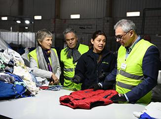 El Consejero de Medio Ambiente de la Comunidad de Madrid visita la planta de Humana -img2
