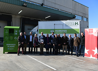 El Consejero de Medio Ambiente de la Comunidad de Madrid visita la planta de Humana -img3