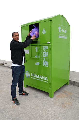 Humana collected 17,629 tonnes of used clothes in 2014-img2