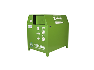 Humana collected 17,629 tonnes of used clothes in 2014-img1