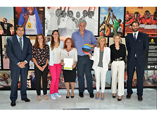 Agreement with Alcobendas Foundation and Spanish Basketball Federation Foundation-img1