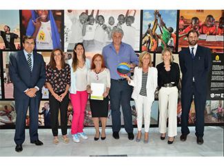 Convenio con la Fundación Alcobendas y la Fundación de la Federación Española de Baloncesto-img1