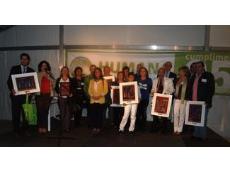 Lliurats els III Premis Humana Reciclatge Tèxtil de Madrid i Zona Centre-img1