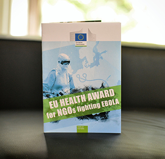 Humana was nominated for 'EU Health Award for NGOs fighting EBOLA'-img2