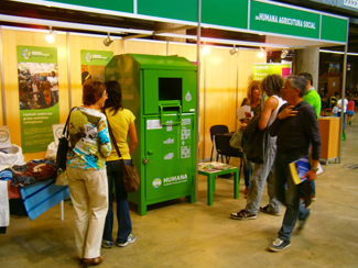 Humana shows at EcoSI fair  its program of social farming-img1