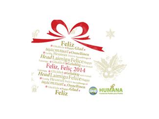 Humana os desea feliz año 2014-img1