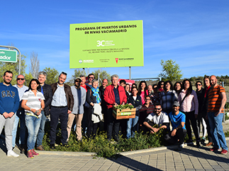 Humana and Rivas Vaciamadrid inaugurate the 3C Social Agriculture Program-img1