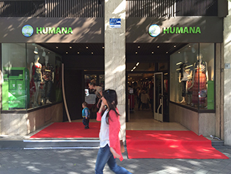 Humana opens its sixteenth store in Madrid-img2