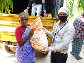 COVID-19 Relief Action by Humana People to People India-img1