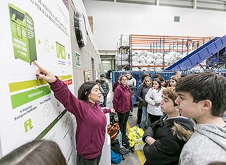 Nuestras plantas de preparación para la reutilización abren las puertas a la sociedad-img2