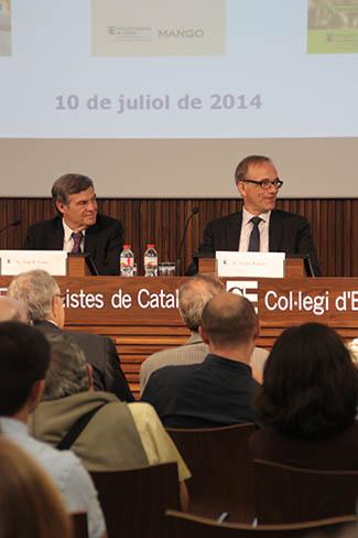 Debatent sobre energia a Col • legi d'Economistes de Catalunya-img2