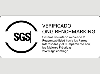 Humana is certified with the SGS NGO Benchmarking-img1