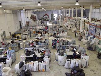 La planta de clasificación de Valderrubio, a pleno rendimiento-img2