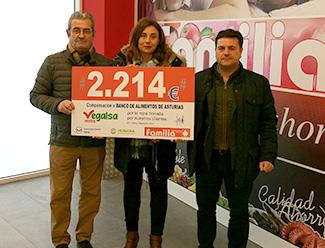 Humana y Vegalsa-Eroski donan 21.382 € a cinco entidades sociales -img3