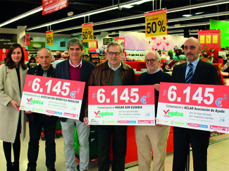 Human and Vegalsa-Eroski donate € 18,435 to three social Galician organizations-img1