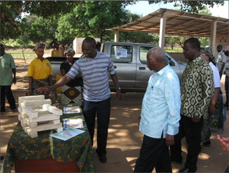 Mozambique's president visits the center of Cabo Delgado biofuel-img1