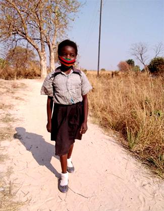 Dorcas, 11 años, Zambia: 'Sueño con ser maestra o médico'-img2