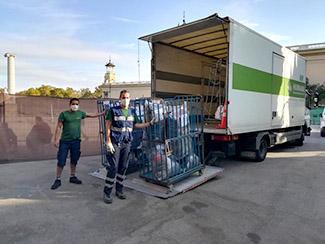 Cataluña: Humana dona ropa para personas con pocos recursos afectadas por la pandemia-img2