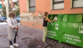 Humana starts the selective textile collection service in Gavà (Barcelona)-img2