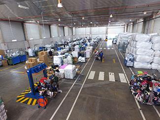 40.000 kg de textil procesado cada día en Leganés-img1