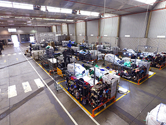 40.000 kg de textil procesado cada día en Leganés-img2