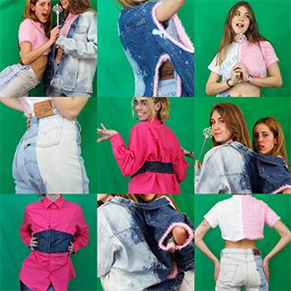 Selena Winters (Maestros de la Costura 3) y Humana  presentan una colección upcycled-img2