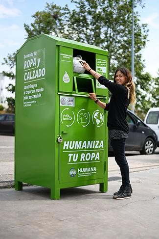 Humana recoge 16.270 tn de textil usado en 2020 para darles un fin social-img2