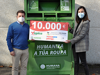 Vegalsa-Eroski and Humana: sustainable textile waste managment with social end-img1